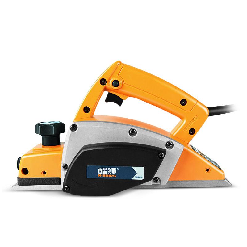 醒狮 多功能手提木工刨家用轻型大功率电刨子电动工具套装压刨机
